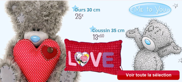 Les peluches Me to You
