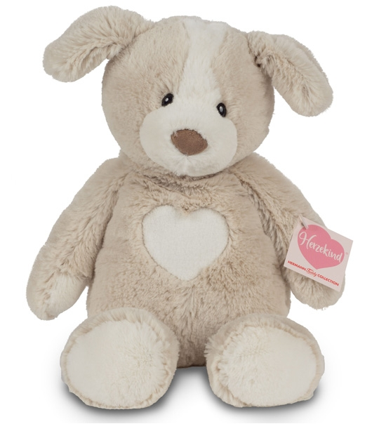 Doudou Hermann chien Holly 30 cm en peluche