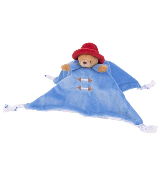 Doudou Paddington mouchoir 25 cm en peluche
