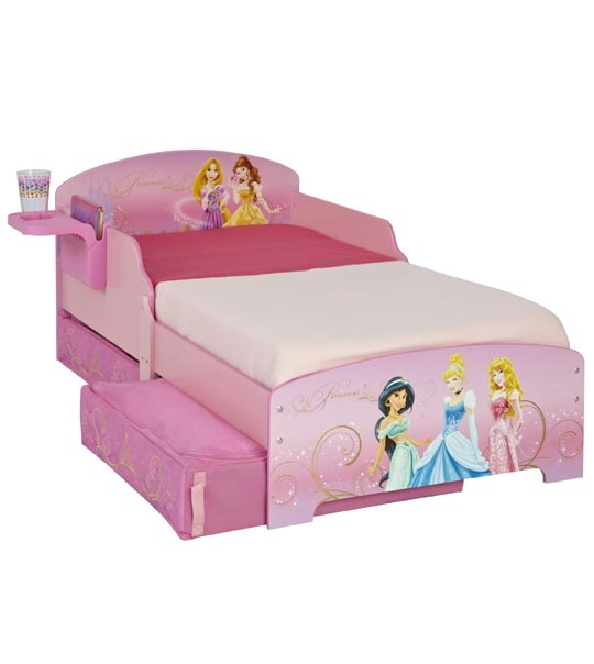 lit enfant princesse disney tiroirs 140 x70 chez doudou. Black Bedroom Furniture Sets. Home Design Ideas