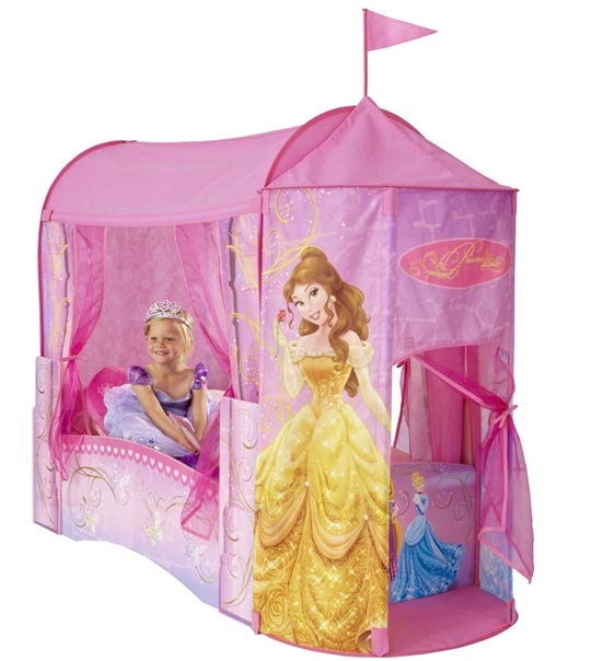 lit enfant princesse disney ch teau 140 cm chez doudou. Black Bedroom Furniture Sets. Home Design Ideas