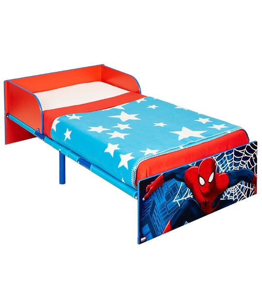 lit enfant spiderman 140 x 70 chez doudou. Black Bedroom Furniture Sets. Home Design Ideas