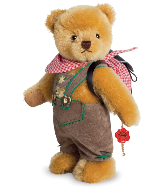 Ours de collection costume traditionnel 22 cm en peluche