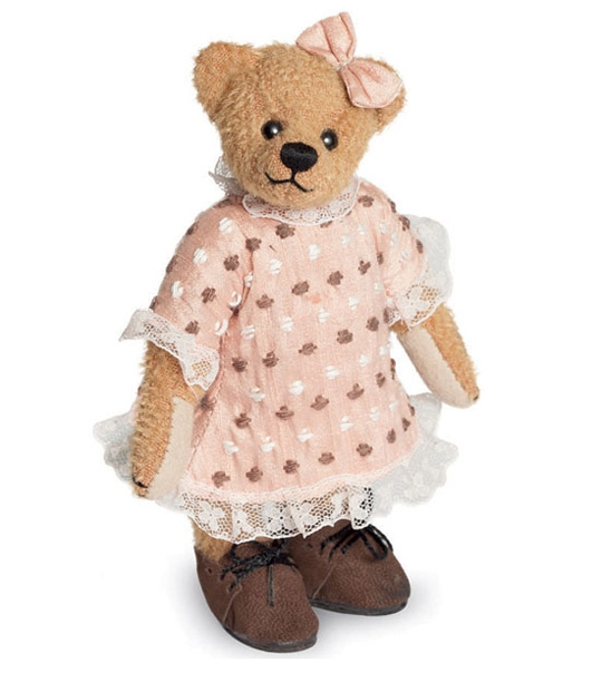 Ours de collection Evelyn 16 cm en peluche