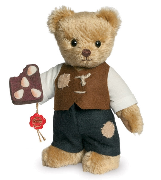 Ours de collection Hansel 17 cm en peluche