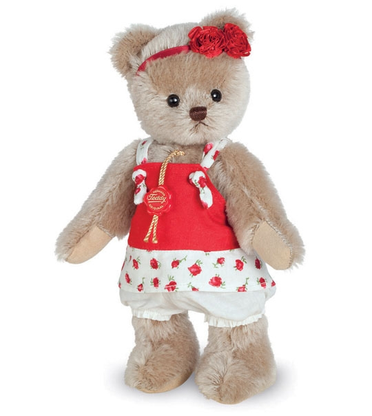 Ours de collection Katinka 23 cm en peluche