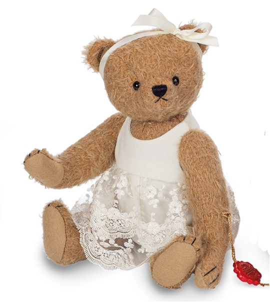 Ours en peluche de collection Babette 28 cm en peluche