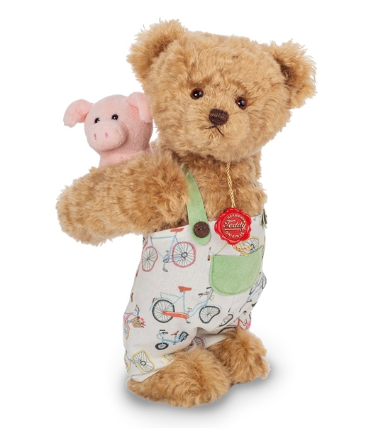 Ours en peluche de collection Luigi 30 cm en peluche
