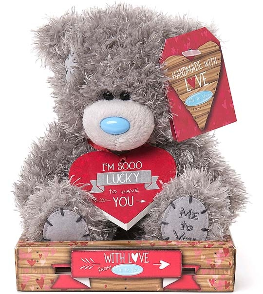 Ours Me to You chance 16 cm en peluche