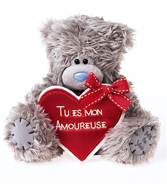 ours me to you mon amoureuse 18 cm chez doudou shopcom - Peluche Me To You