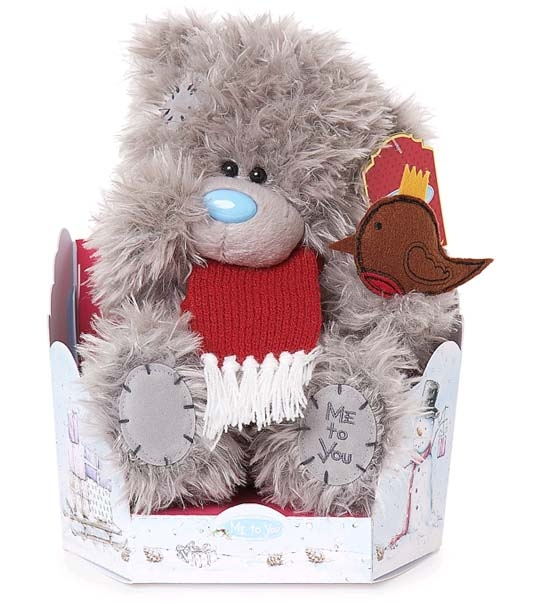 Ours Me to You Robin 23 cm en peluche