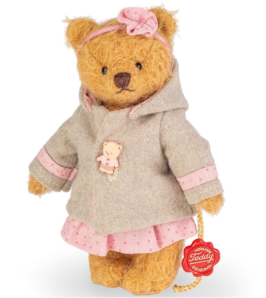 Ours Teddy de collection Anne Marie 14 cm en peluche