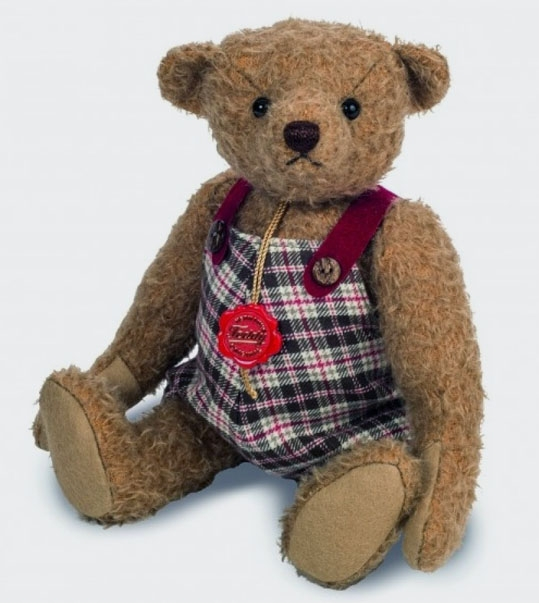 Ours Teddy de collection Markus 31 cm en peluche