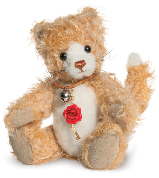 Ours teddy de collection Maunzi 19 cm en peluche