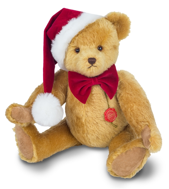 Ours Teddy de collection nuit de Noël 54 cm en peluche