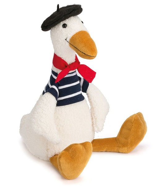peluche canard gaston jellycat 35 cm chez doudou. Black Bedroom Furniture Sets. Home Design Ideas