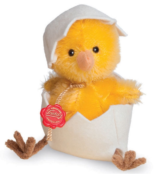 Peluche de collection poussin jaune 11 cm en peluche