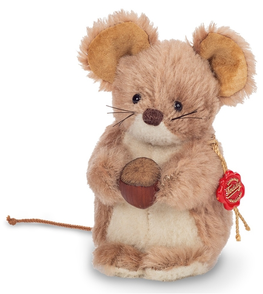 Peluche de collection souris 12 cm en peluche