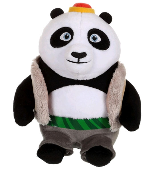 peluche kung fu panda 3 bao 18 cm chez doudou. Black Bedroom Furniture Sets. Home Design Ideas