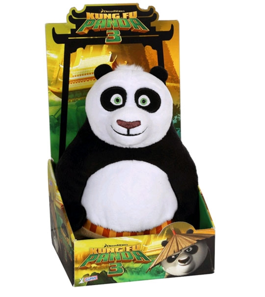 peluche kung fu panda 3 po 25 cm chez doudou. Black Bedroom Furniture Sets. Home Design Ideas