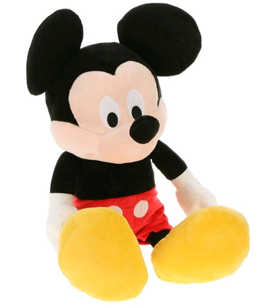 peluche mickey disney g ant 127 cm chez doudou. Black Bedroom Furniture Sets. Home Design Ideas
