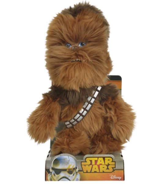 peluche star wars chewbacca 25 cm chez doudou. Black Bedroom Furniture Sets. Home Design Ideas