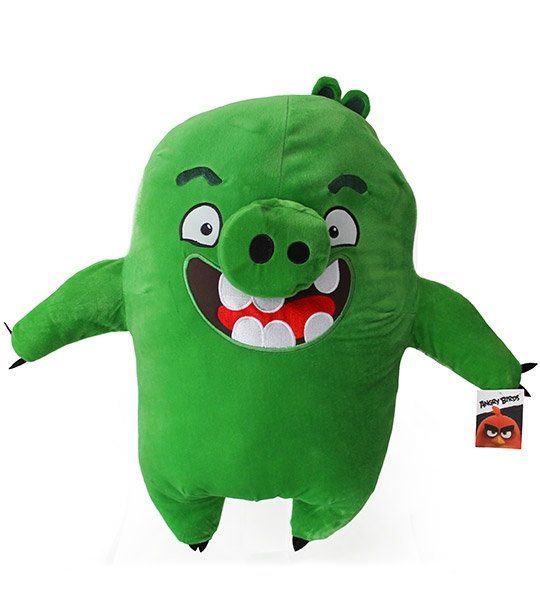 Peluches angry birds cochon 54 cm chez doudou - Cochon angry bird ...
