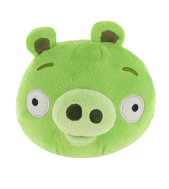 Peluches angry birds cochon 13 cm chez doudou - Cochon angry bird ...