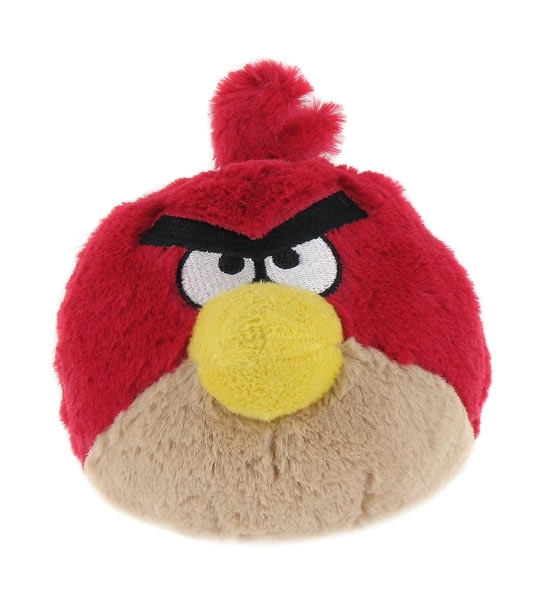 Peluches angry birds rouge 20 cm chez doudou - Angry birds rouge ...