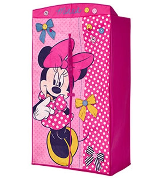 penderie en tissu minnie disney chez doudou. Black Bedroom Furniture Sets. Home Design Ideas