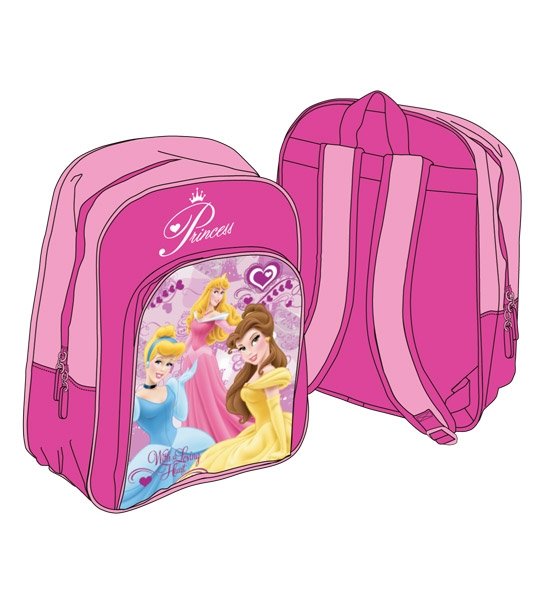 Sac Princesses Disney en peluche