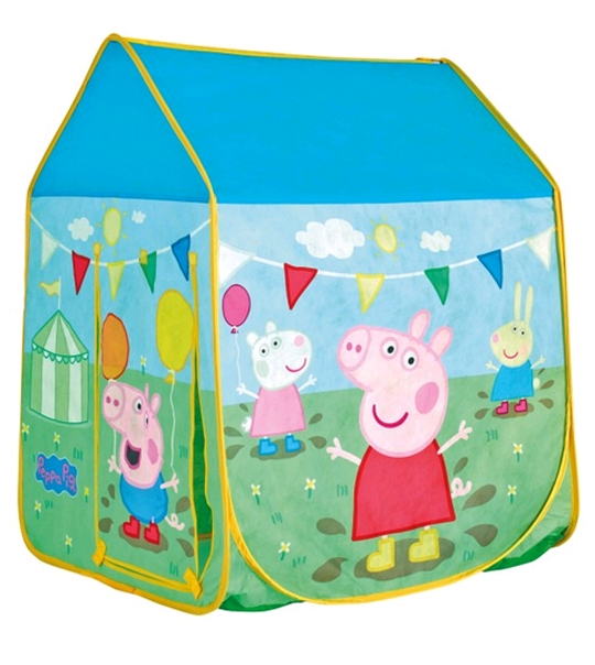 tente maison peppa pig chez doudou. Black Bedroom Furniture Sets. Home Design Ideas