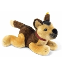 peluche Chien berger chiot couch� 25 cm