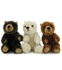 Peluche Ours assis mini 11cm