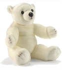 Peluche Ourson flocon 60cm