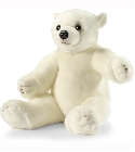 peluche Peluche Ourson flocon 80cm