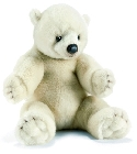 Peluche ours polaire Anima 35 cm