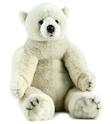 peluche Peluche ours polaire Anima 70 cm