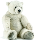 Peluche ours polaire Anima 100 cm