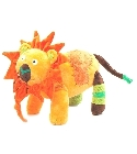 Doudou lion color� 43 cm