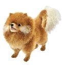 Peluche Anima chien Chow chow 40 cm