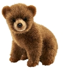 peluche Peluche ours brun assis Anima 24 cm