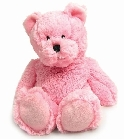 peluche Peluche Ours rose bouillotte