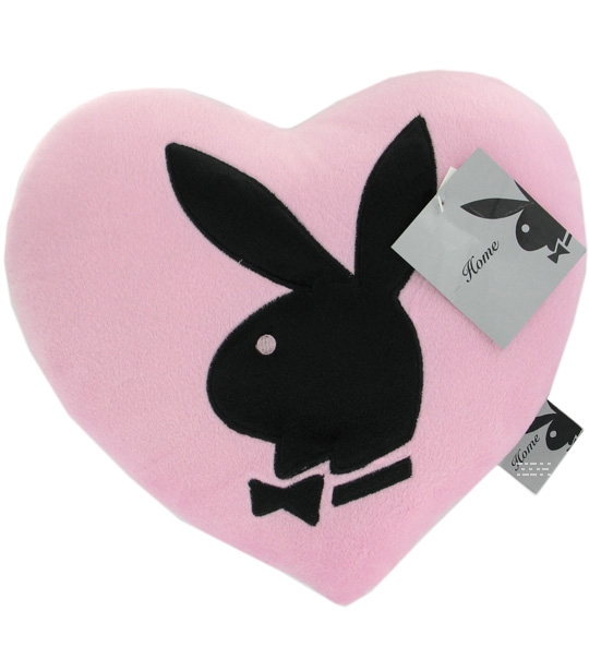 Impression De L Article Peluche Coussin Play Boy Coeur