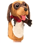 peluche Peluche marionnette chien de cartoon