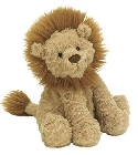 Peluche Jellycat lion Fuddlewuddle medium