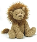 Peluche Jellycat lion Fuddlewuddle large