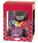 peluche Coffret Ours Me to You avec bracelet