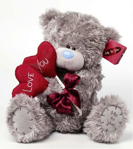 peluche ours me to you 30 cm avec sucettes - Peluche Me To You
