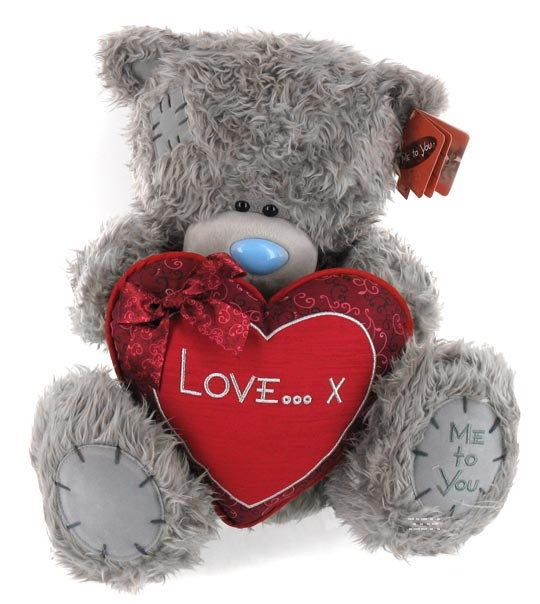 impression de l 39 article peluche ours me to you 50 cm avec un coeur chez doudou. Black Bedroom Furniture Sets. Home Design Ideas